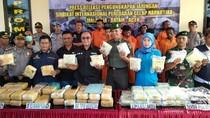 3 Pengendali Sindikat Internasional 99 Kg Sabu Ditangkap di Aceh
