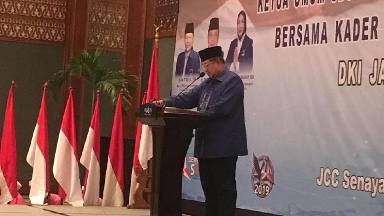 SBY Minta Kader Demokrat Awasi Kinerja Pemerintahan Jokowi