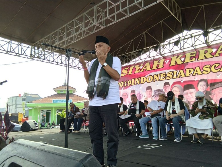 Amien Rais: Maaf Pak Jokowi, Panjenengan yang Bikin Kerusakan
