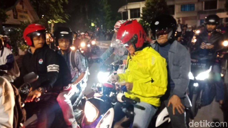 Potret Gatot Nurmantyo Naik Motor Pulang dari Kenduri Cinta