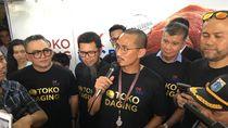 Sediakan Bahan Pangan Murah, Sandi Resmikan Toko Daging OK OCE