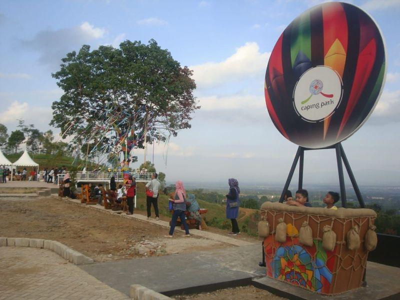Caping Park berada di Jalan Raya Baturraden Barat tepatnya di Desa Kebumen, Baturraden, Banyumas. (Arbi Anugrah/detikTravel)