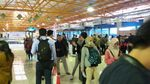 Ramai! Kereta Bandara Soekarno Hatta Diserbu Pemudik