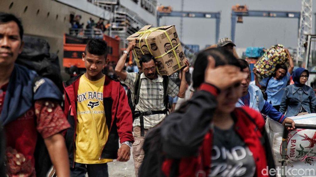 Pemudik Asal Tanjung Pinang Tiba di Jakarta