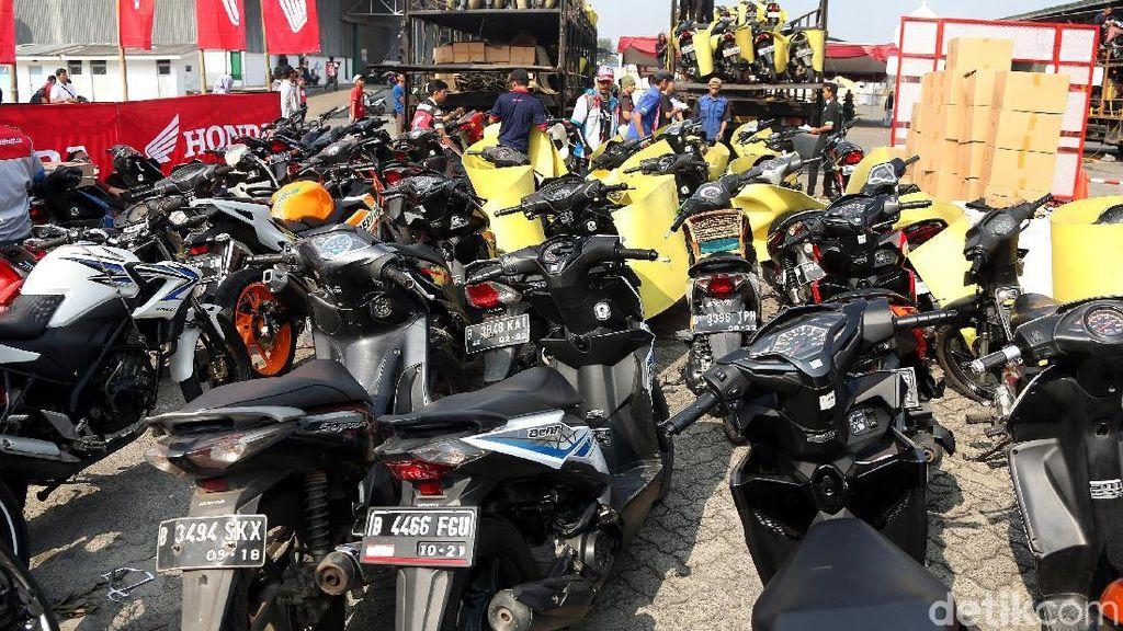 Pemudik Honda Bisa Lacak Posisi Motor via Internet