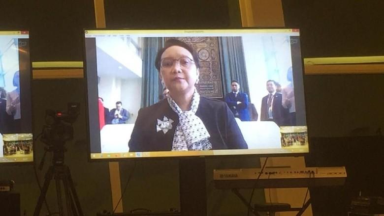 Pernyataan Lengkap Menlu Retno soal Indonesia Jadi Anggota DK PBB