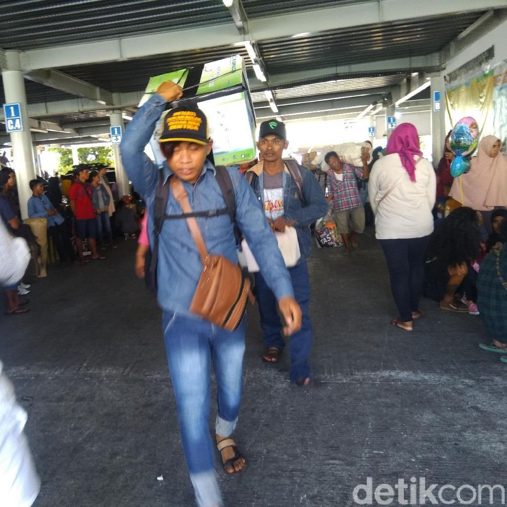Puncak Arus Mudik di Pelabuhan Makassar Diprediksi H-7