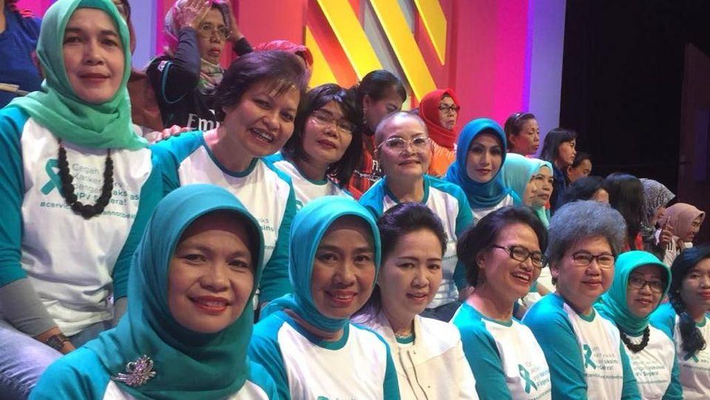 Jupe di Mata Penyintas Kanker Serviks: Dia Membuka Mata Wanita Indonesia