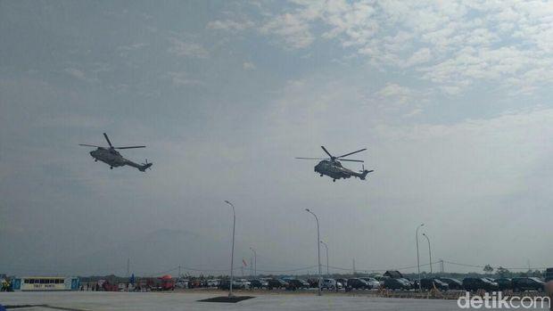 Menteri-menteri Jokowi Pantau Mudik Pakai Helikopter, Ini Hasilnya