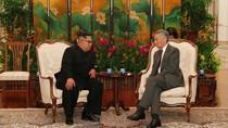 Kim Jong Un Bertemu PM Singapura