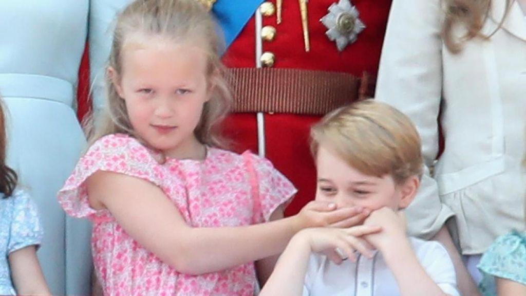 Tingkah Lucu George dan Charlotte di Perayaan Ultah Ratu Elizabeth