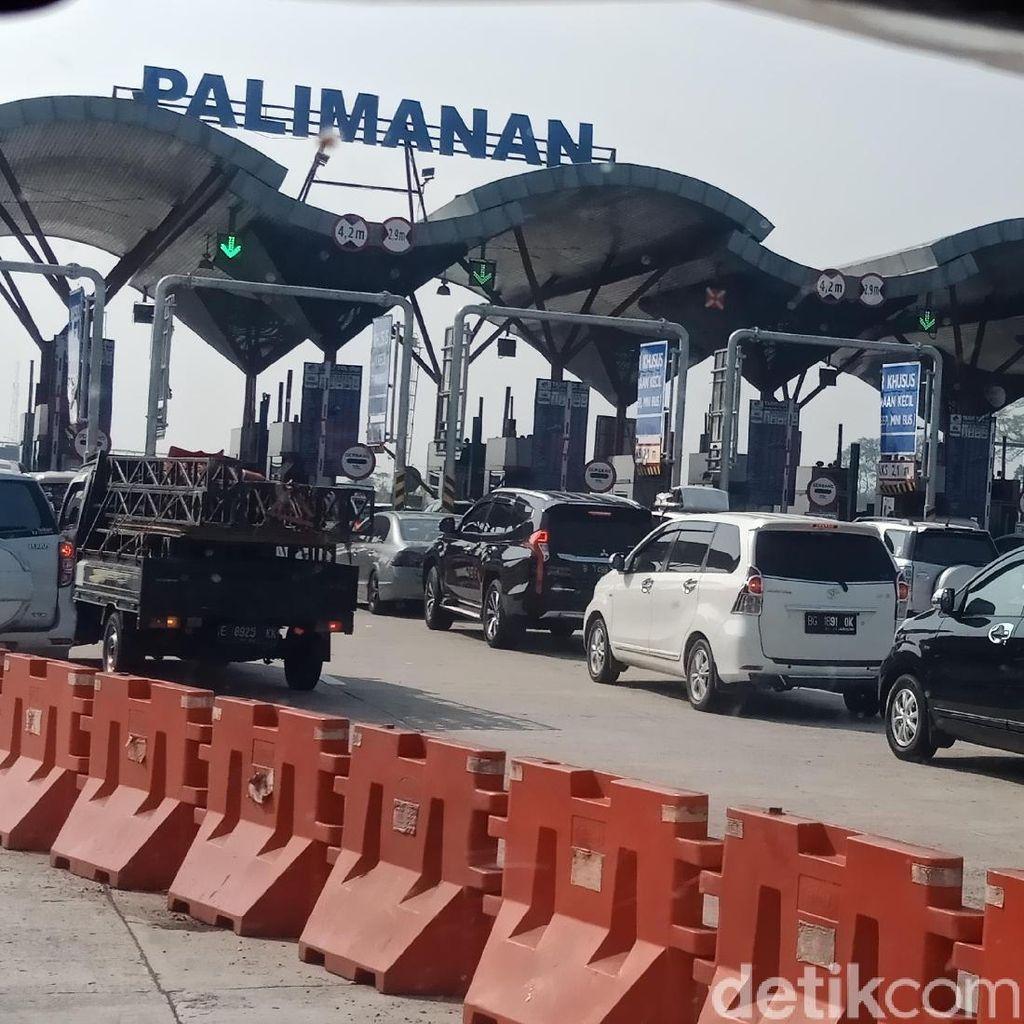 Tol Palikanci Arah Jakarta Padat, Imbas One Way