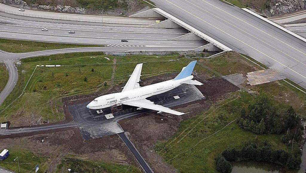 Jet Berukuran Jumbo Disulap Jadi Hotel, Begini Jadinya