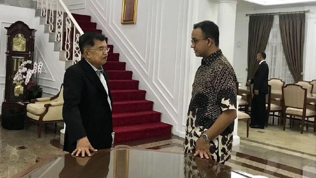 Soal Pertemuan JK-Anies, Sandi: Jangan Dikaitkan dengan Politik
