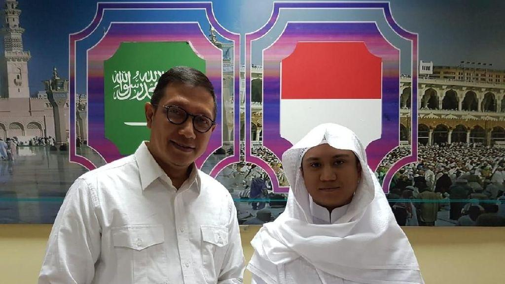 Menag Temui Pemuda Indonesia yang Jadi Imam di Mekah