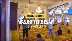 Berkunjung ke Mesjid Terbesar di Singapura