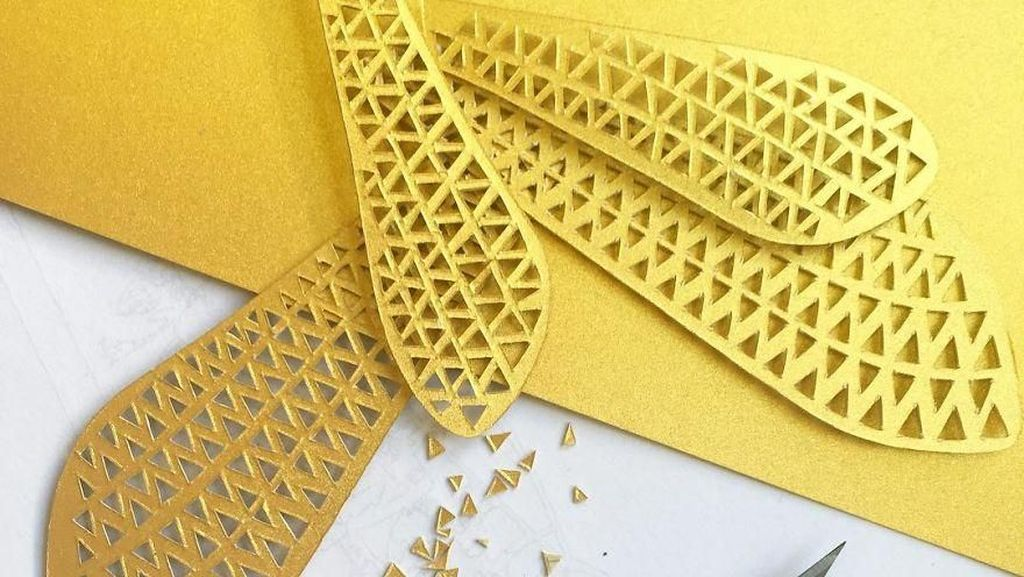 Kece Abis! Kreasi Miniatur 3D dari Kertas Digulung