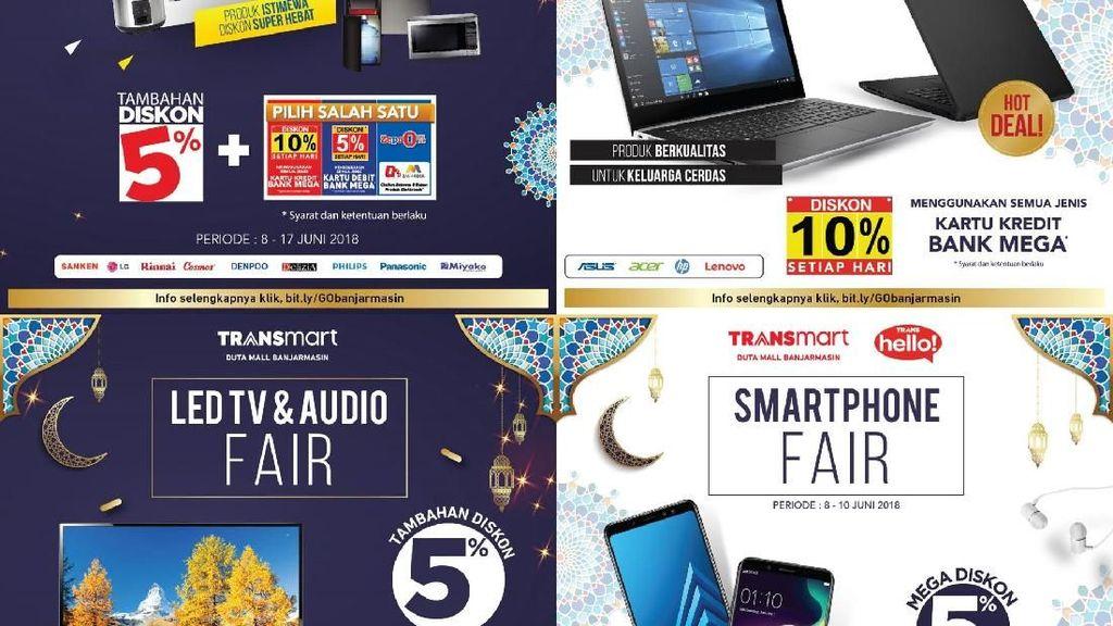 Diskon Elektronik hingga Smartphone di Transmart Banjarmasin