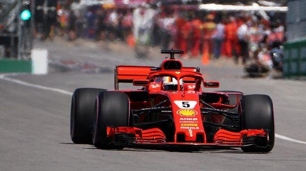 Sebastian Vettel akan memulai F1 GP Abu Dhabi di posisi ketiga.