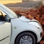 Suzuki Swift Sengaja Ditabrakkan ke Tembok Demi Klaim Asuransi