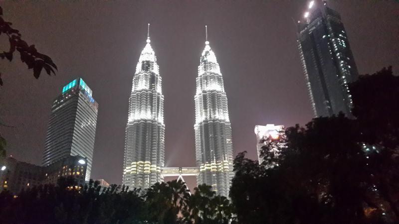 Menara Kembar Petronas di Malaysia