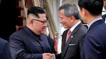 Kim Jong Un ke Singapura Menumpang Jet Pribadi Air China