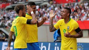 Brasil Libas Austria 3-0