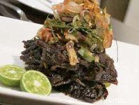 Masakan Sunda gepuk daging.