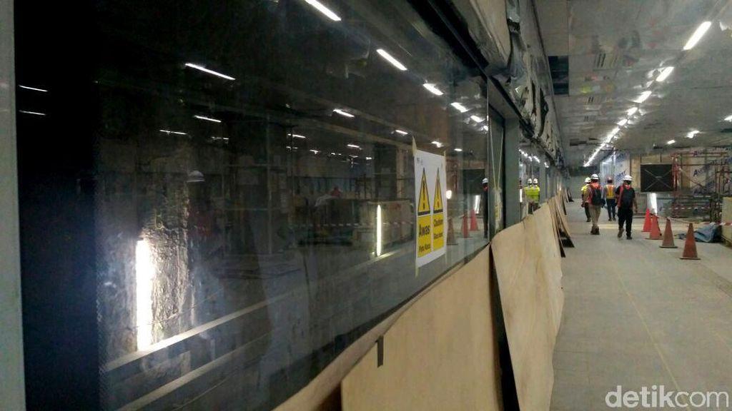 Hampir Jadi, Ini Penampakan Terkini Stasiun MRT Senayan