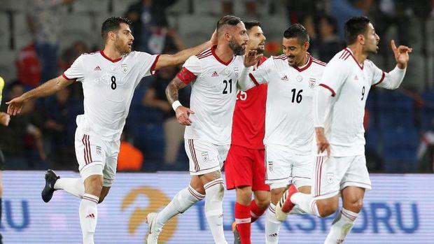 Timnas Iran terancam dicoret dari kepesertaan di Piala Asia 2019.