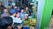 Sidak Pasar, Bupati Fadeli Temukan Minyak Goreng Tak Sesuai Kemasan