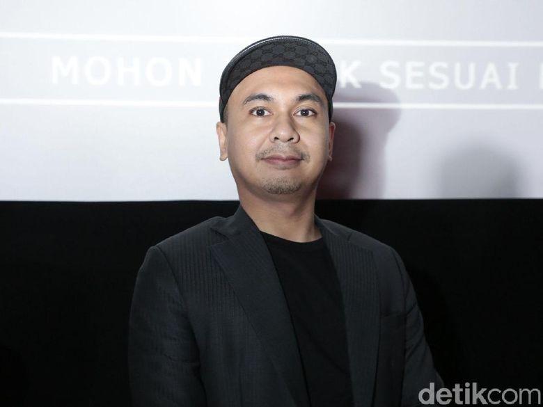 Raditya Dika saat ditemui di acara press screening film Target di kawasan Senayan, Jakarta Pusat, Sabtu (9/6) malam. Foto: Pool/Ismail/detikHOT