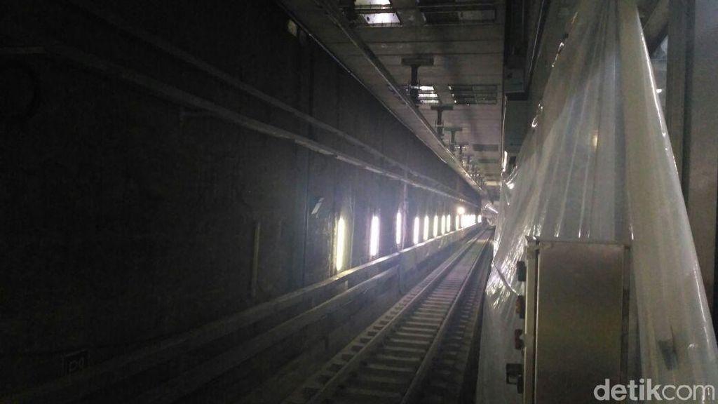 Video: Wajah Terkini Stasiun dan Terowongan MRT Senayan