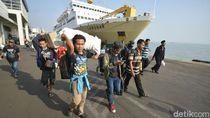 4.953 Pemudik dari Kalimantan Tiba di GSN Tanjung Perak