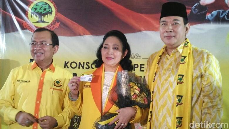Kekecewaan Titiek Soeharto ke Jokowi dan Golkar