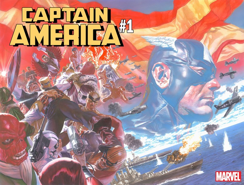 Marvel Comics Rilis Trailer Teaser Komik Captain America #1