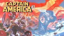 Marvel Comics Rilis Trailer Teaser Komik Captain America #1