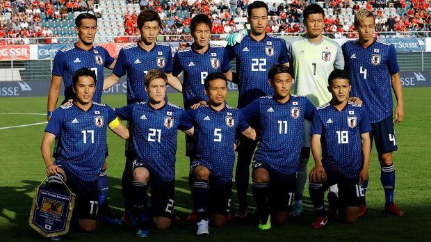 Timnas Jepang juga diperkuat banyak pemain yang merantau di kompetisi Eropa. (