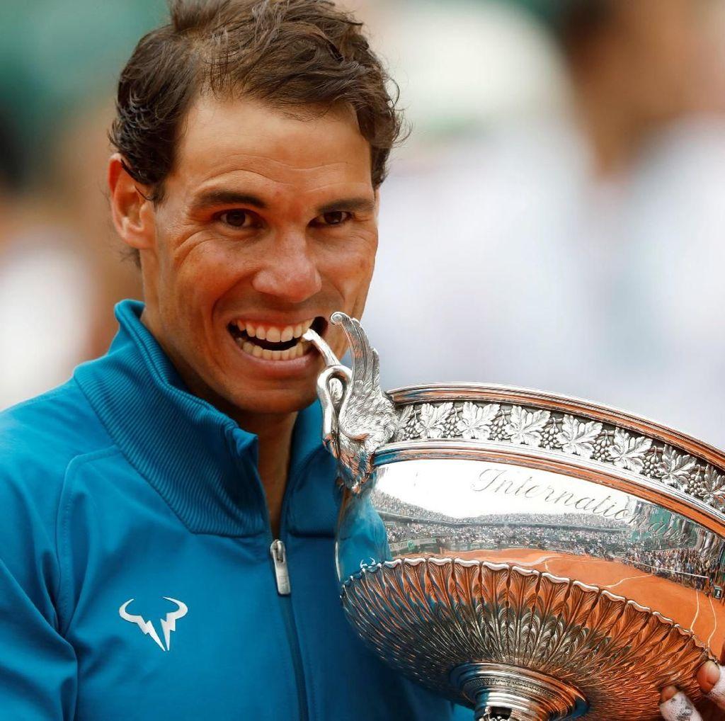 Angka-Angka Nadal Usai Juara di Roland Garros