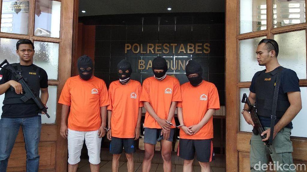 Napi Suplai Sabu ke Oknum Satpol PP dan PNS Bandung