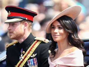Meghan Gugup Hadiri Ultah Ratu, Ini yang Dilakukan Pangeran Harry