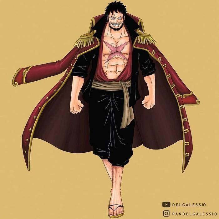 Monkey D Luffy One Piece Jadi Raja Bajak Laut Begini Penampilannya