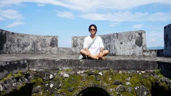 Benteng Tolukko di Ternate juga ia kunjungi (prisia/Instagram)