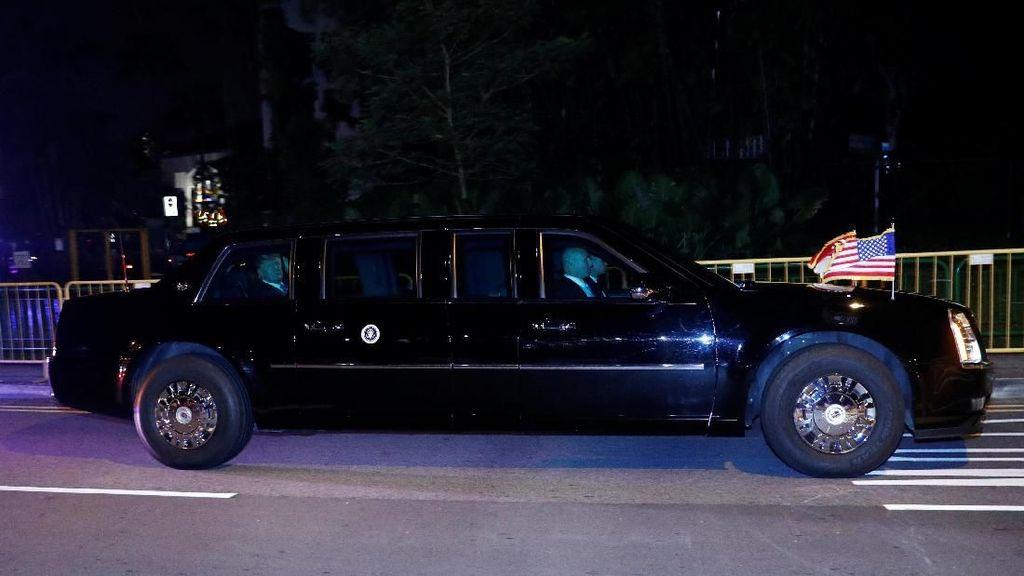 Donald Trump Punya Sniper di Rombongan Mobilnya