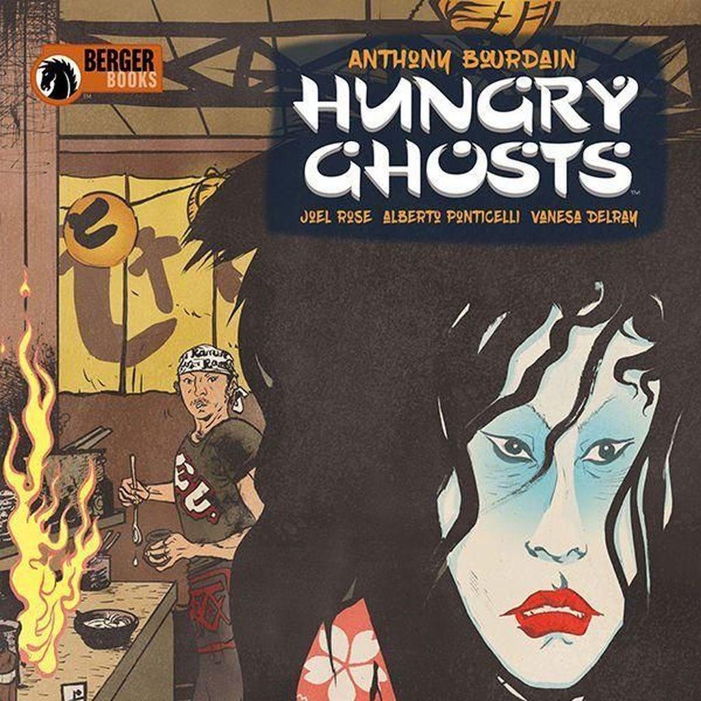 Komik Hungry Ghosts Jadi Warisan Anthony Bourdain Sebelum Tiada