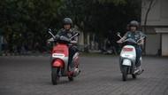 Motor Listrik Jadi Kendaraan Operasional Paspampres di Istana