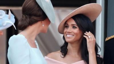 Berbagai Momen Sister Goals Kate Middleton dan Meghan Markle