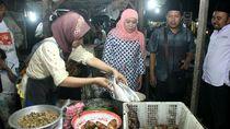 Khofifah Prihatin Tak Ada Bank Penyedia KUR di Pasar Tradisional