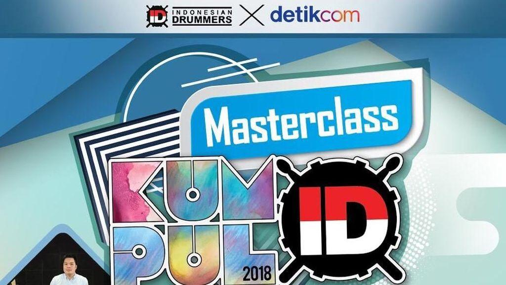 Ikut Masterclass Indonesian Drummers, Berapa Harga Tiketnya?