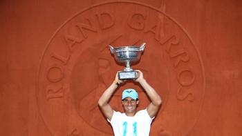 Nadal Masih Jadi Raja di Roland Garros